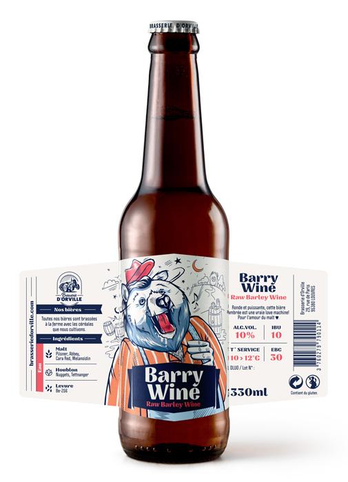 Raw Barry Wine